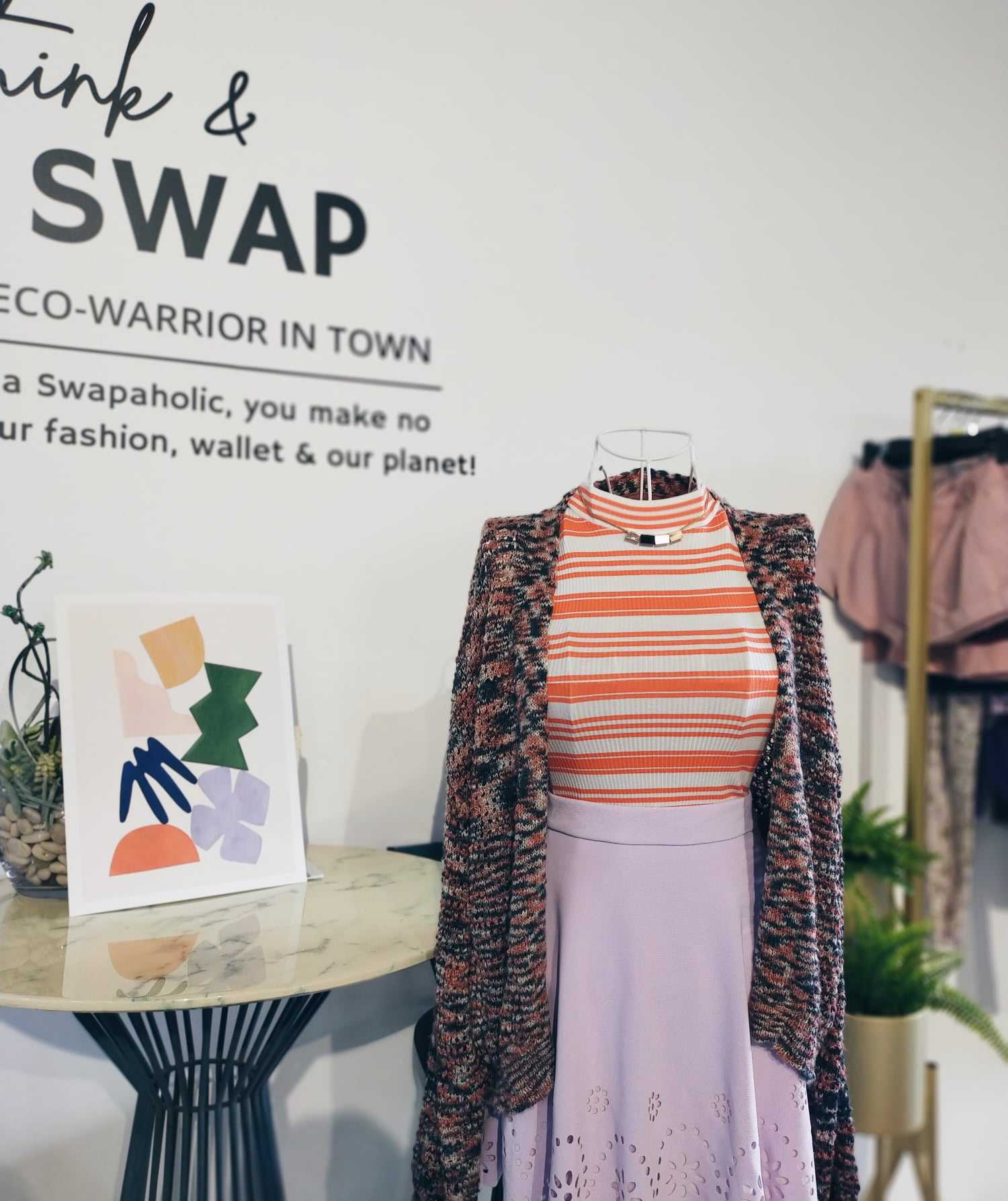 The Rescue Project: Swapaholic Urges You to Declutter & Shop Sustainably