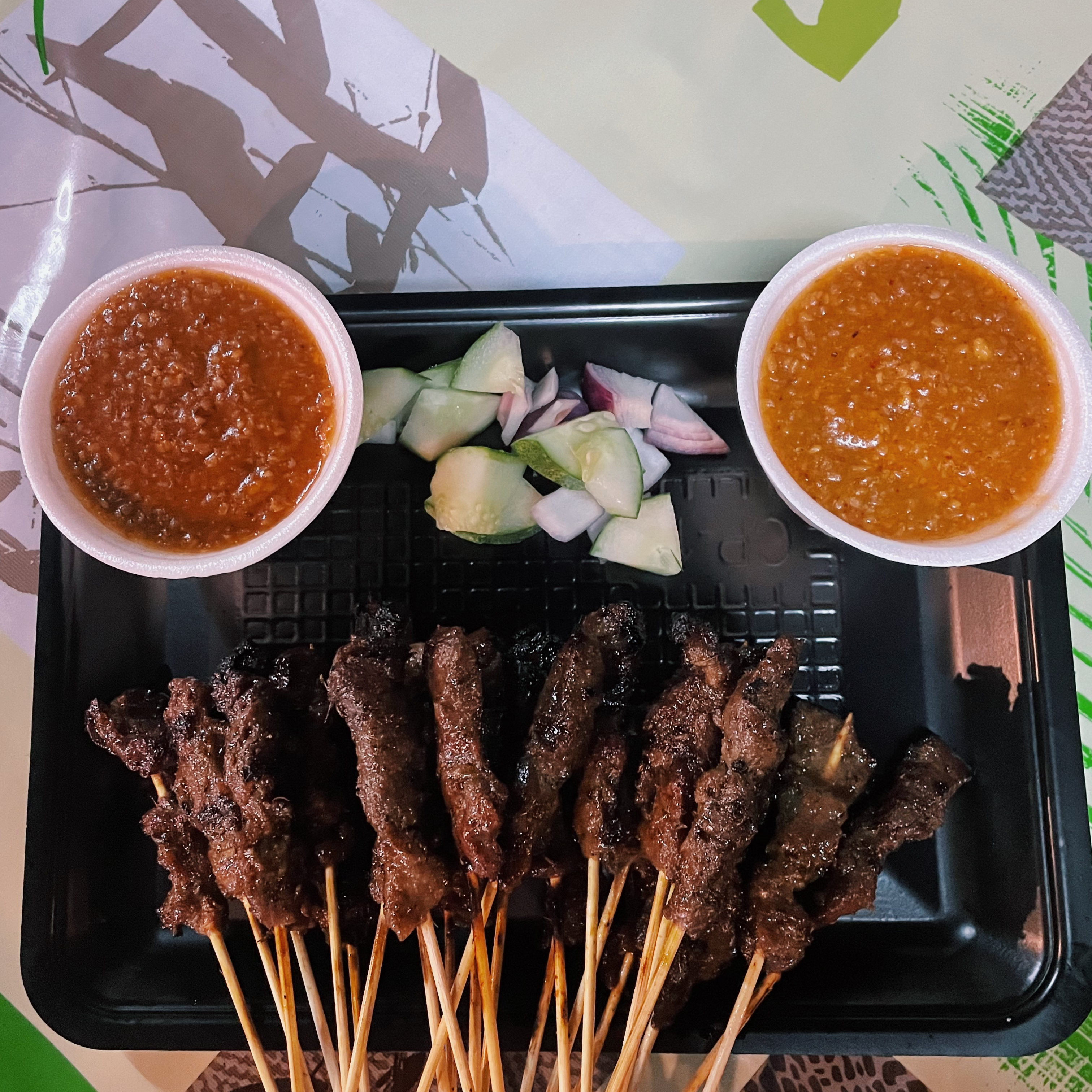 One of the best lamb satay I ever had @ The Gallops