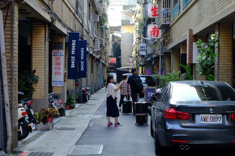 Alley of Dihua Street