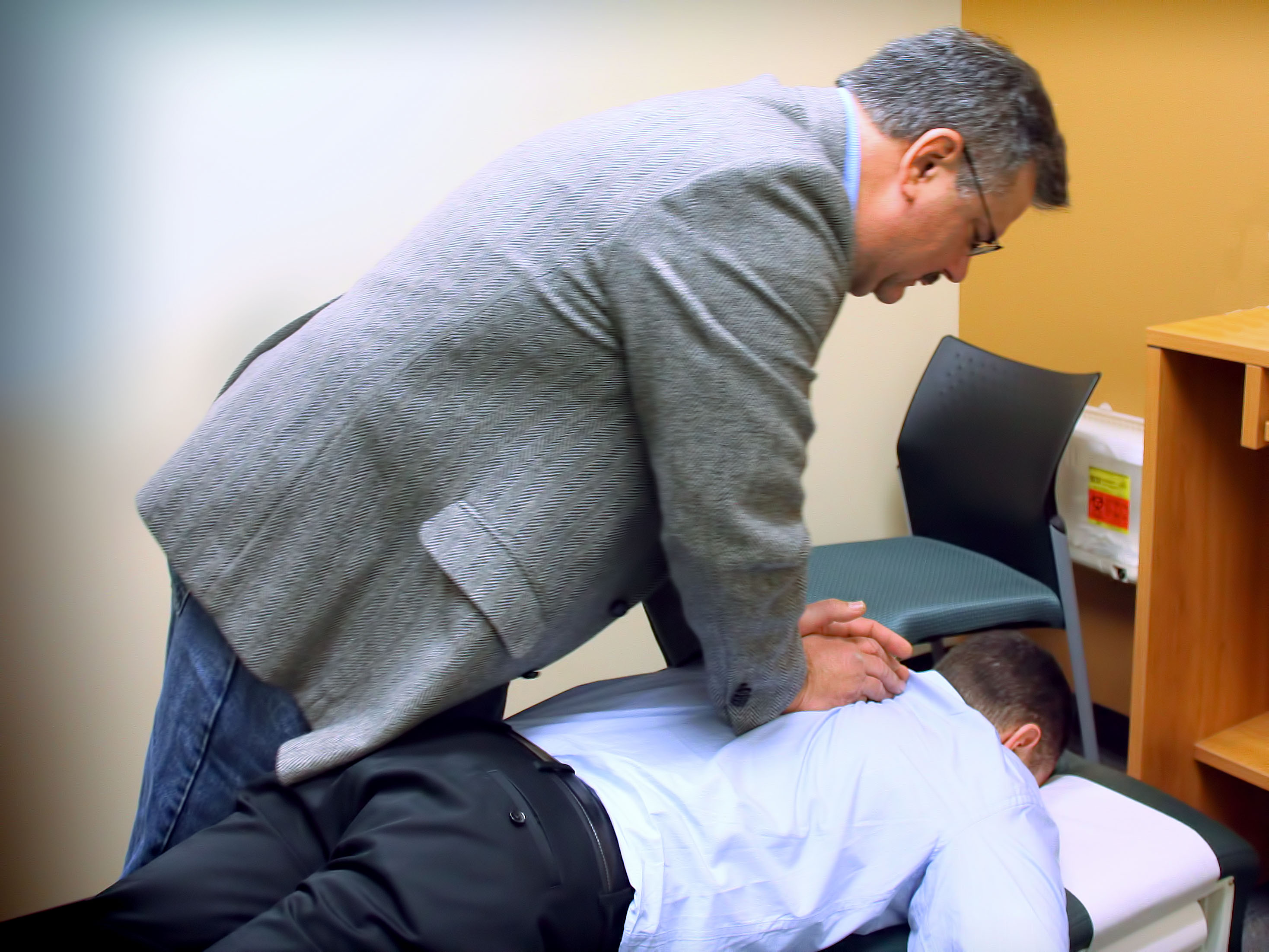 We offer chiropractic care at Genesis Medical in Pittsburgh.