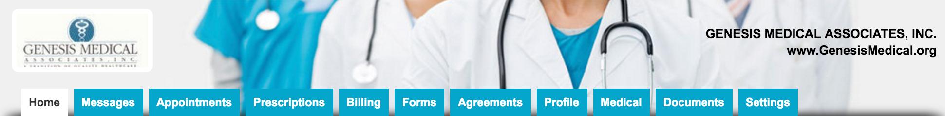 Genesis Medical's Patient Portal