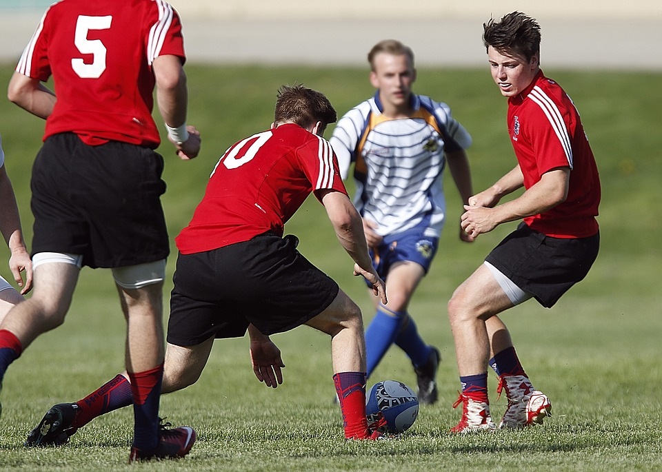 School sports can help your teen stay healthy.