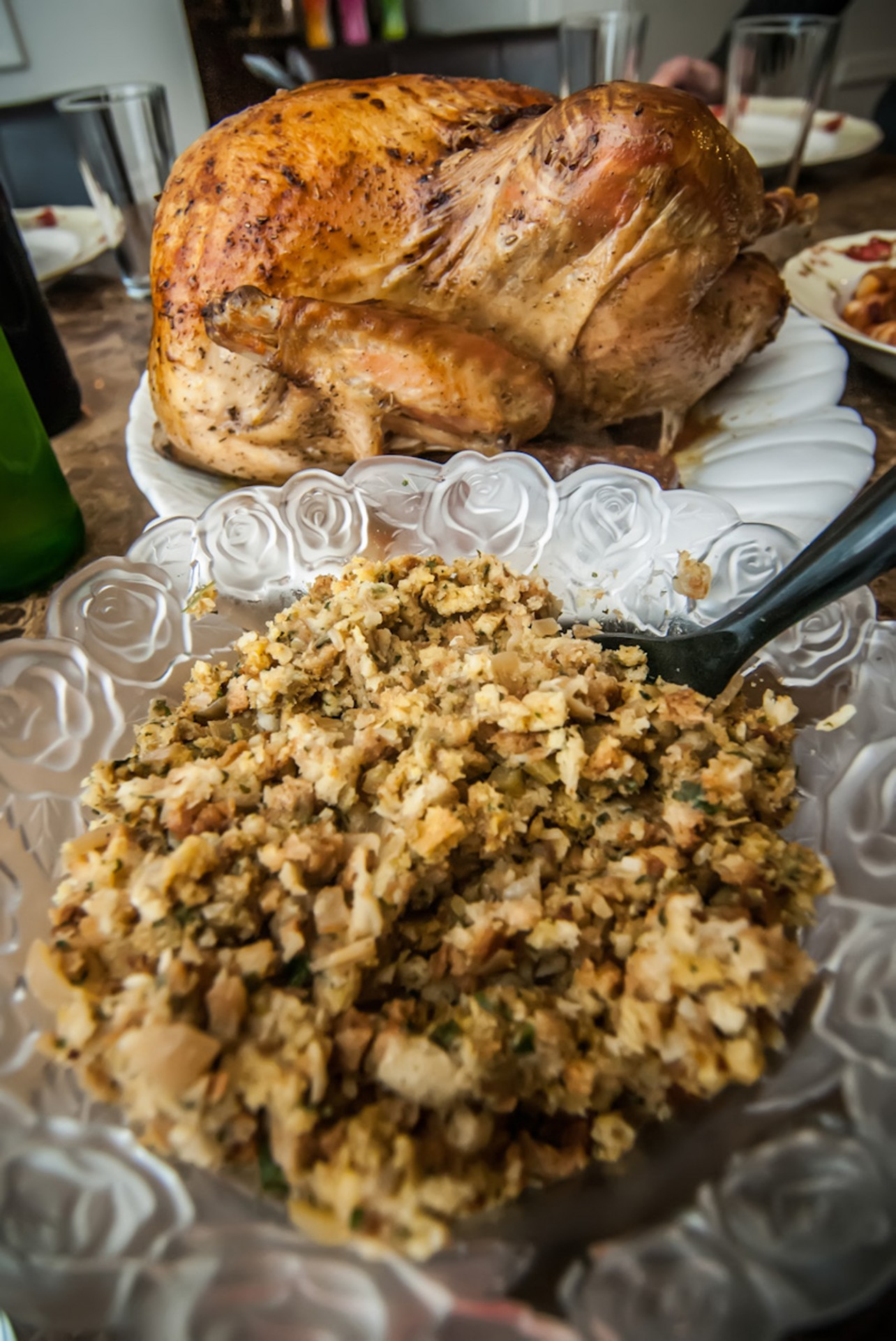 Even a turkey dinner can make a healthy Thanksgiving feast.
