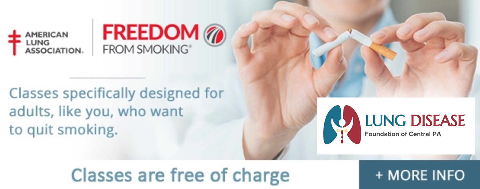 Freedom from smoking banner