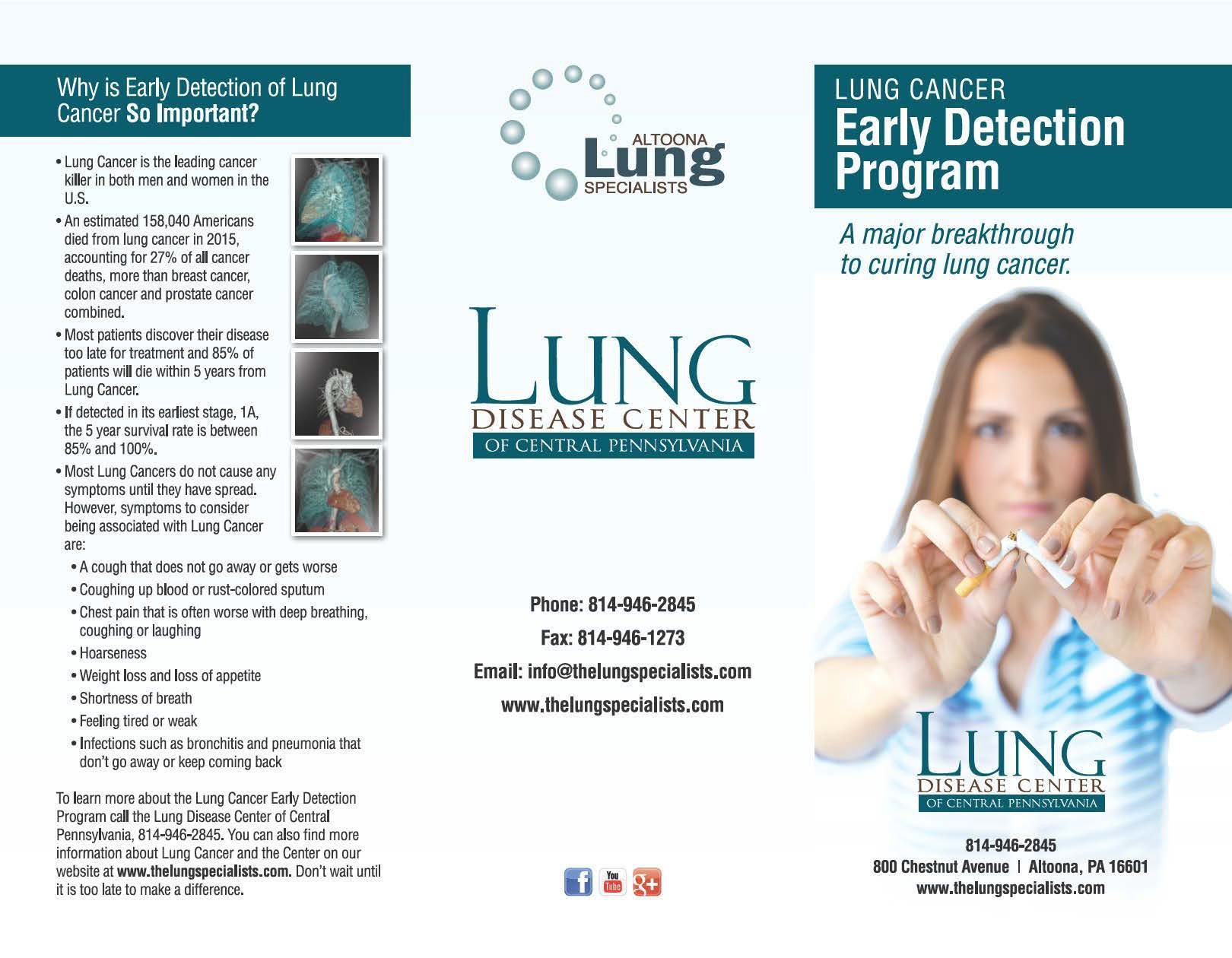 LUNG CANCER EARLY DETECTION PROGRAM