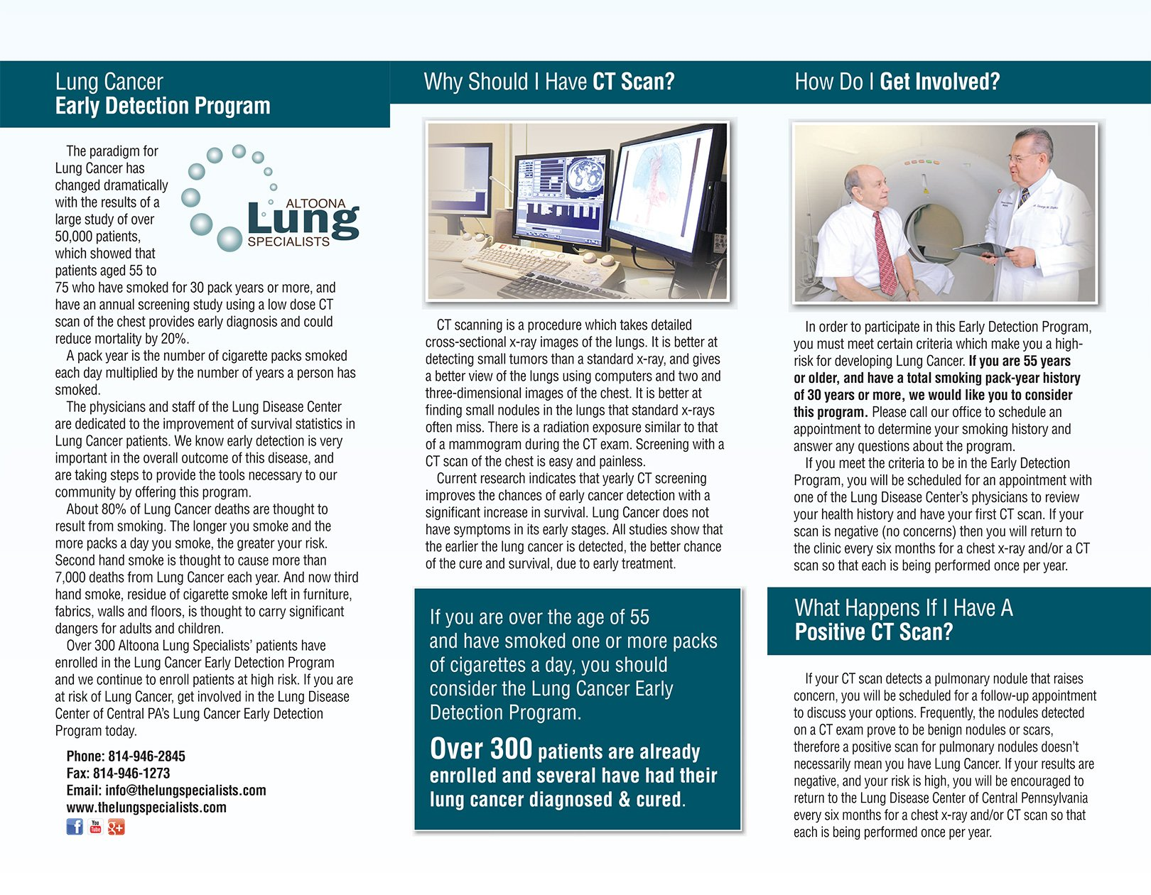 LUNG CANCER EARLY DETECTION PROGRAM 2