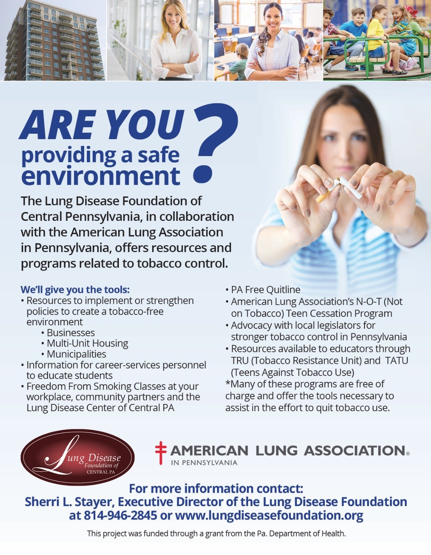 Are you Providing a Safe Environment