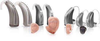 More varieties of hearing aids