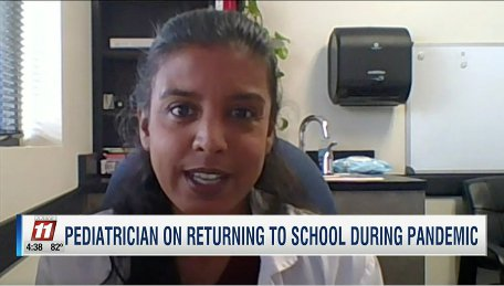 Pediatrician Talking About Returning to School