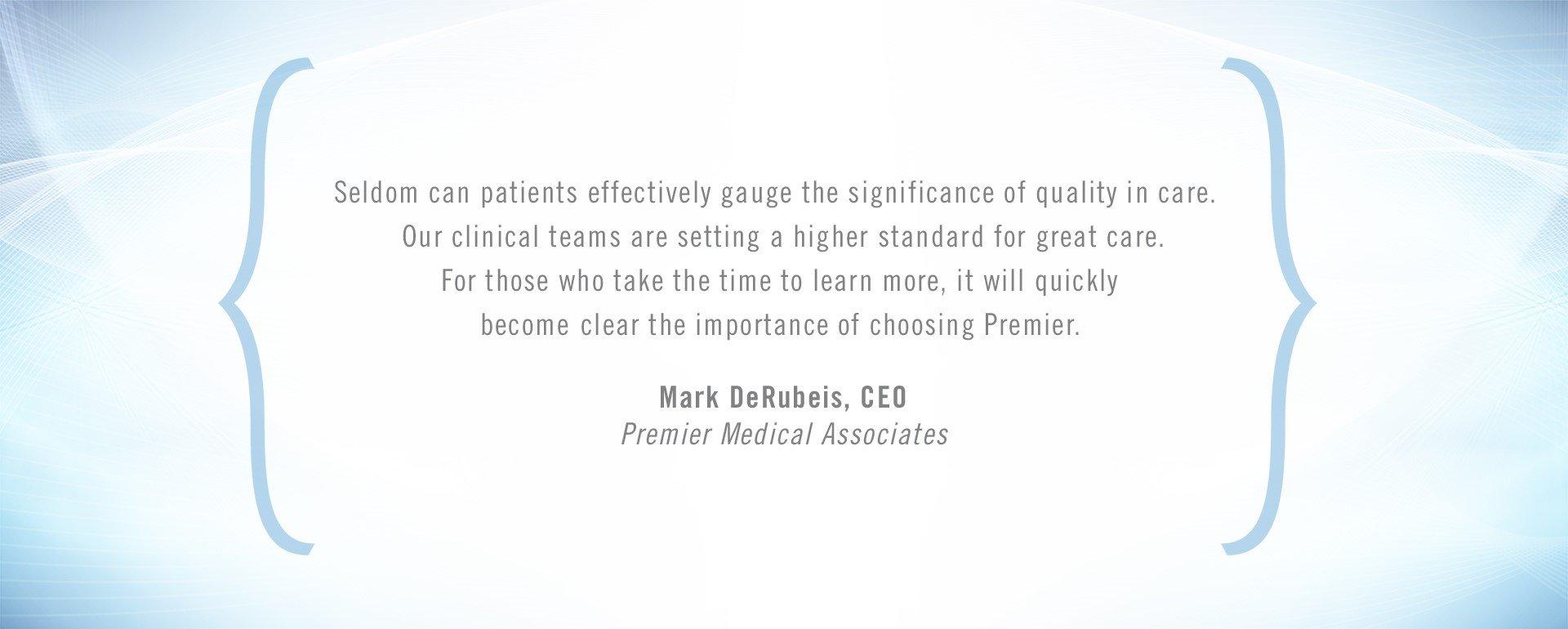 Mark DeRubeis Quote