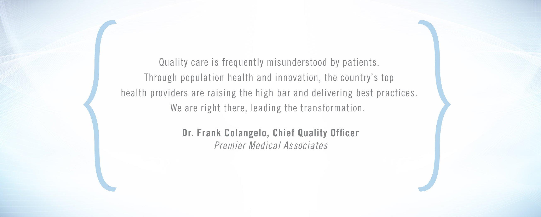 Frank Colangelo Quote