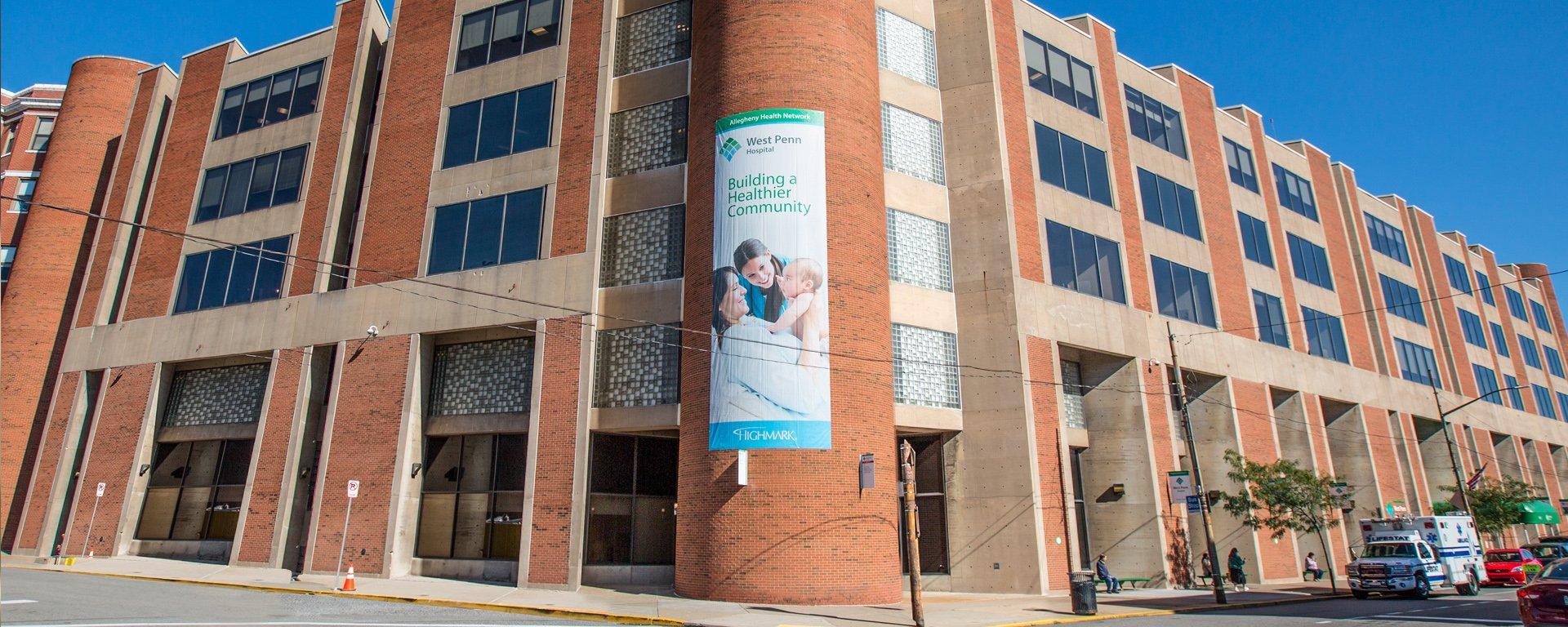 West Penn Hospital Entrance