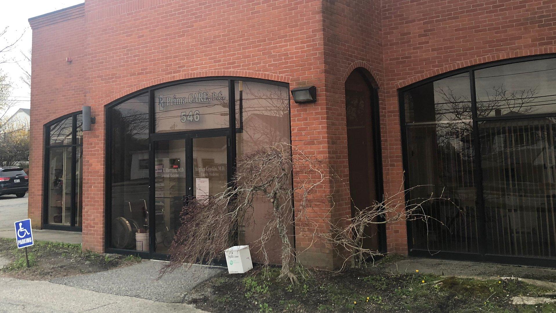 Prima Care 546 Main Rd Entrance