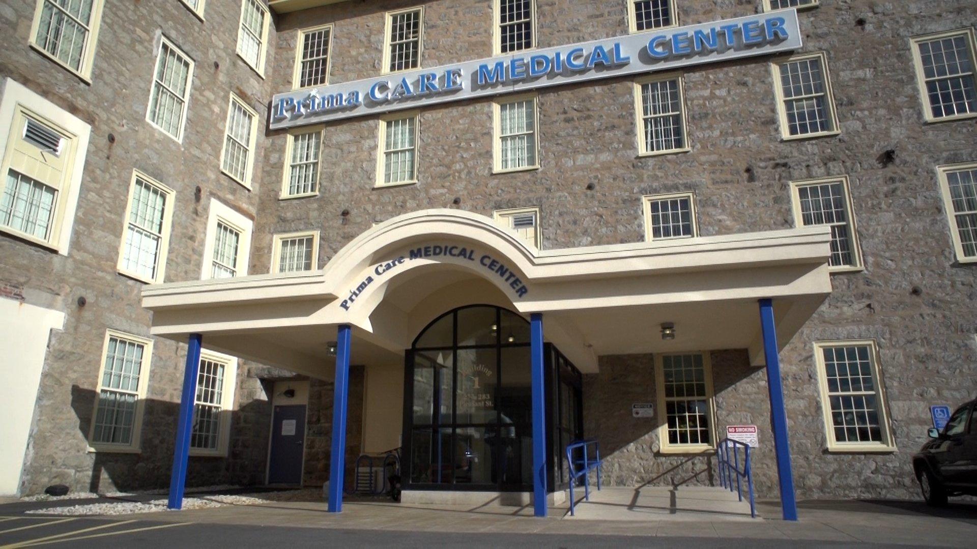 Prima Care Pleasant St Building 1 Entrance