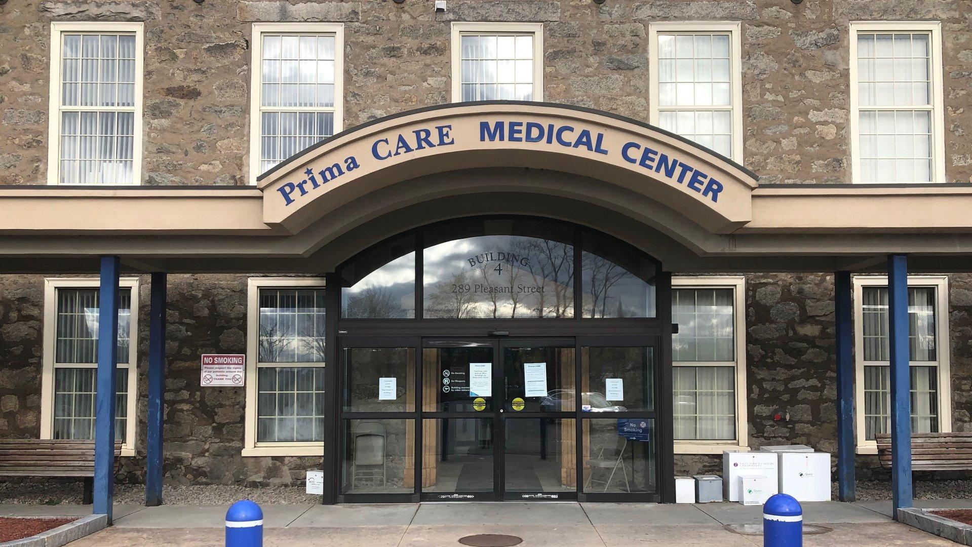Prima Care Pleasant St Building 4 Entrance