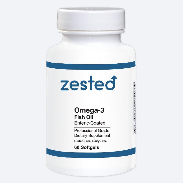 Omega-3 Fish Oil Enteric-Coated Soft Gels