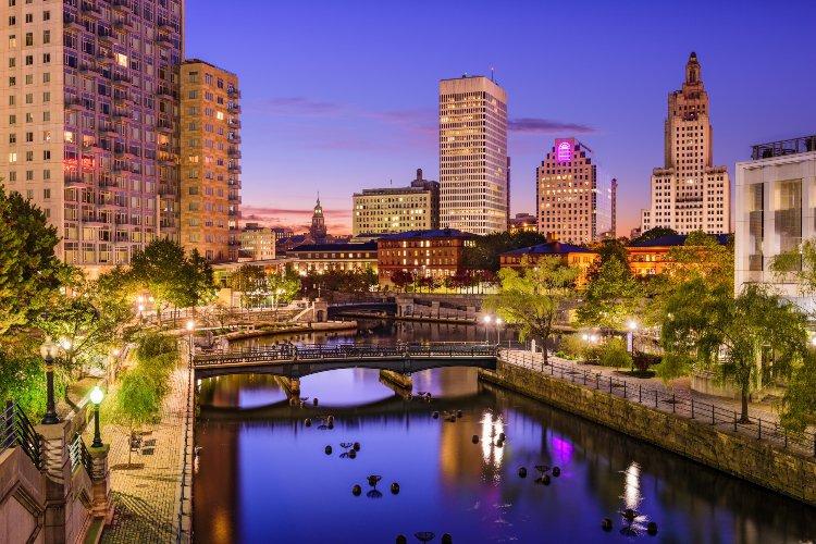 Rhode Island Cityscape
