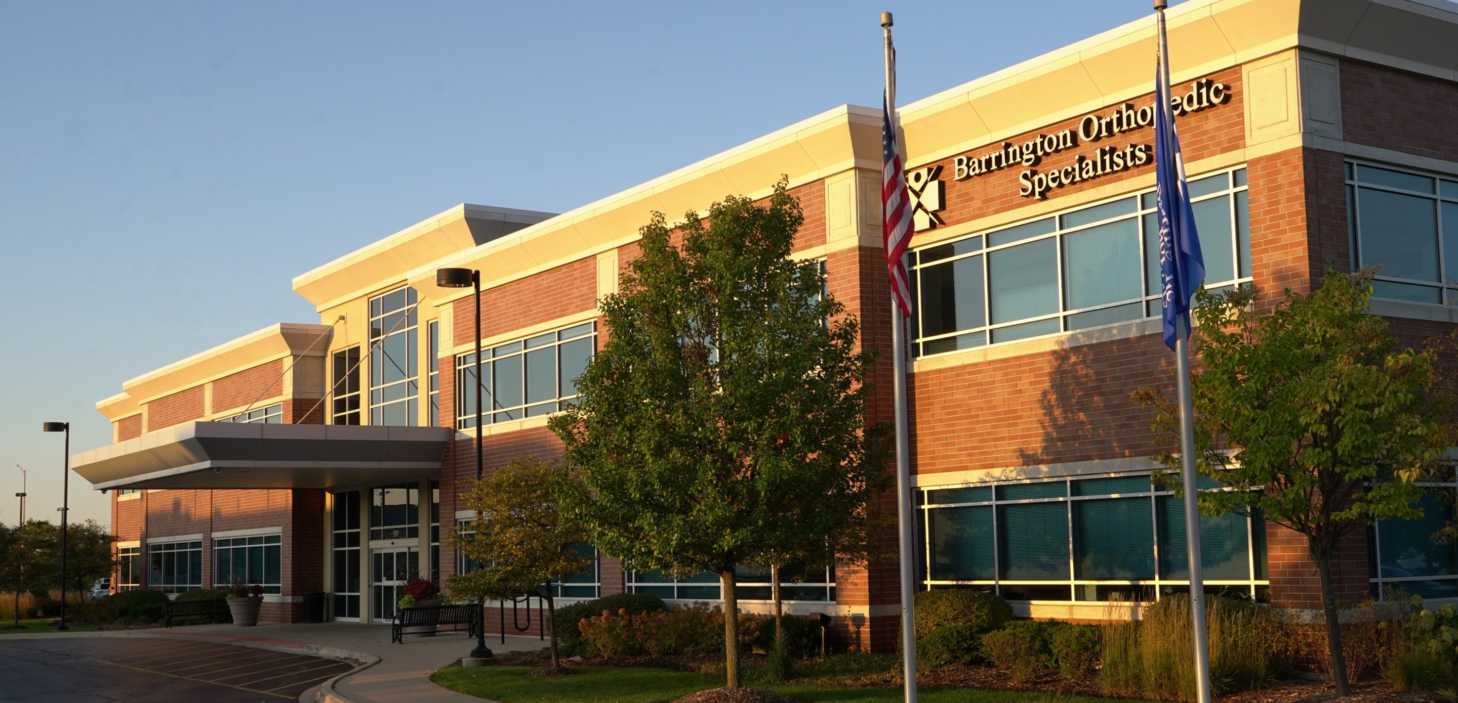 Barrington Orthopedic Specialist's Entrance