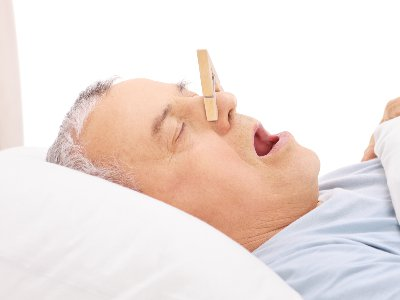 Snoring Person