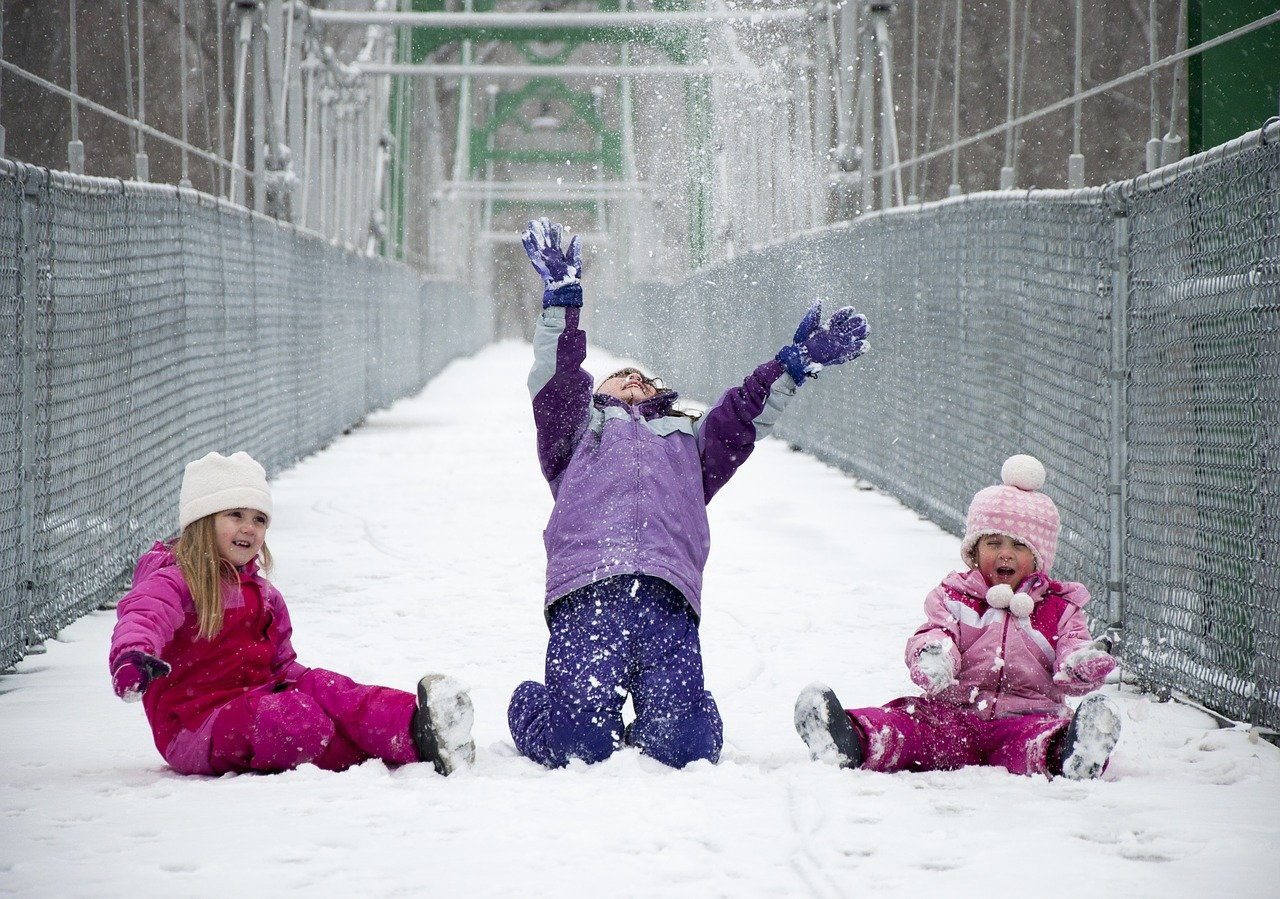 Five Ways to Keep Your Children Active in the Winter