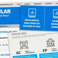Fuvest divulga novas datas do Vestibular 2021 e amplia prazo para pedido de isenção da taxa