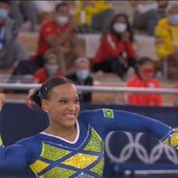 Rebeca Andrade conquista a primeira medalha feminina do Brasil na ginástica artística em Olimpíadas