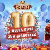 Goodgame Empire: Der zehnte Geburtstag steht vor der Tür