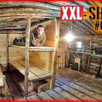 XXL SHELTER bauen #005 | 2. ETAGE? - Feuerstelle, Betten & Trennwand | Survival Mattin