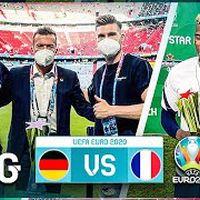 Deutschland VS Frankreich Stadionvlog🇩🇪🇫🇷 Mit Lothar Matthäus am Spielfeldrand 😍 EM 2020