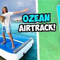 RIESEN AIRTRACK vs OZEAN! (XXL Luftmatratze!)