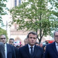 NotreDame de Paris : Emmanuel Macron a désormais « la conviction » qu'il faut restaurer la flèche à…