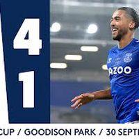 EVERTON 4-1 WEST HAM | CARABAO CUP HIGHLIGHTS