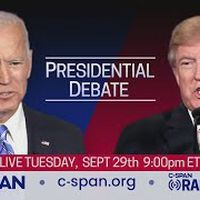 First 2020 Presidential Debate between Donald Trump and Joe Biden