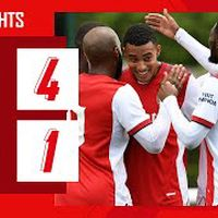 HIGHLIGHTS   Arsenal vs Watford (4-1)   Nketiah, Lacazette, Tierney, Azeez