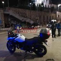 Πάτρα: Επίθεση με μολότοφ κοντά στο Αστυνομικό Μέγαρο (pics)