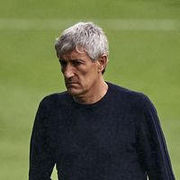 Quique Setien expecting 'complicated' quarterfinal against Bayern