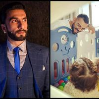 Ranveer Singh cannot stop gushing over Virat Kohli and Vamika's new picture clicked by Anushka Sharma; se