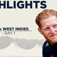 Day 1 Highlights   Cricket Is Back As Burns and Denly Dig In   England v West Indies 1st Test 2020