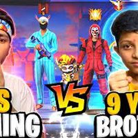 My 9 Year Brother Came To My Home And Challenge Me For 1 Vs 1   10 Lakh Diamond - Garena Free Fire