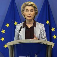 """Recovery fund, von der Leyen: """"L'Italia è sulla strada giusta"""""""