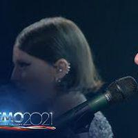 Sanremo 2021 - Francesca Michielin e Fedez cantano 'Chiamami per nome'