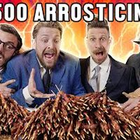 500 ARROSTICINI CHALLENGE con i GENTLEMEN - Thomas Hungry, xMurry, Danny Lazzarin