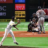 巨人中島3戦連続の死球、達川光男氏に並んだ