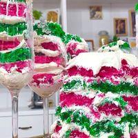 速水もこみち、斬新なひな祭りケーキを披露し「芸術だぁ~」「カラフルで可愛らしい」