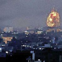 Bombardementen Israël op Gaza na raketaanvallen Hamas op Tel Aviv
