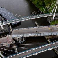 Brugdek aangevaren brug Groningen vandaag weggetakeld