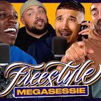 Heftige discussie bij MEGASESSIE PT.1 | SUPERGAANDE FREESTYLE ft. Bokoesam Sjaak Saaff Caza & Ginger