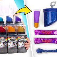 Abrindo Rainbow Surprise Makeup Surprise!
