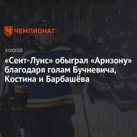 «СентЛуис» обыграл «Аризону» благодаря голам Бучневича, Костина и Барбашёва