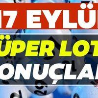 Süper Loto canlı çekiliş sonuçları açıklandı! Milli Piyango Online ile 17 Eylül 2020 Süper Loto çekiliş…